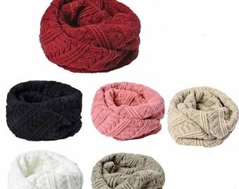 Woolen Snood/twisted Choker (6 colors)