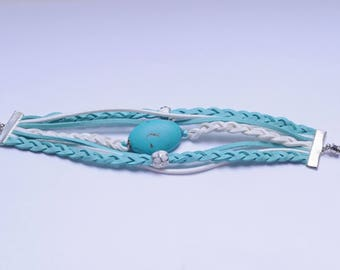 "Turquoise bracelet from the ""Summertime Dreams"" Collection"