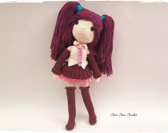 Amigurumi - Feelia, crochet doll