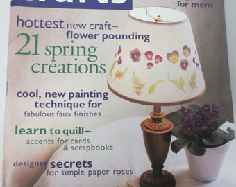 K Crafts back issue magazine May 2002 used