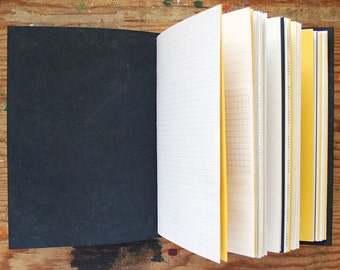 Carpe Diem - Travel Journal - 6 x 9 inch A5 - Mixed Paper Journal - Graduation Gift - Wedding Guestbook