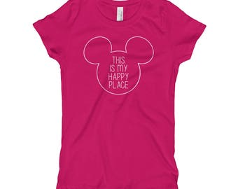 Happy Place Girls T-Shirt