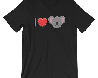 I Love Koalas T-shirt Animal Lover Tee