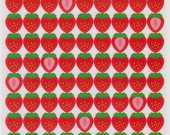 Strawberry Stickers - Japanese Stickers - Reference C6168-70A6370–71