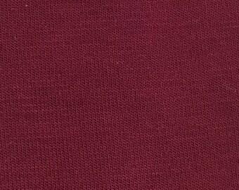 Maroon Rayon Modal Spandex 60'' Wide 15 Yards Wholesale