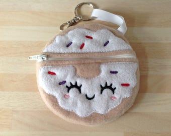 Cute doughnut purse, kawaii