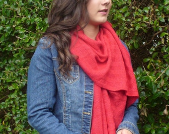 Wind & Sea Wrap Knitting Pattern