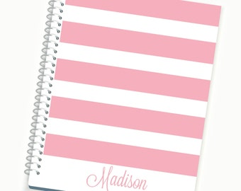 2017 Planner, Personalized  Daily Planner, Monthly Planner, Yearly Planner, Pink Planners, Girls Agenda, Student Planner, 2016-2017 Planners