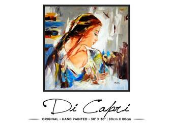 Summer Days | Original Oil Painting On Canvas | Modern Art | 01