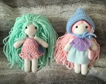 2 dolls set