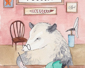 Awesome 'Possum natural science comic anthology