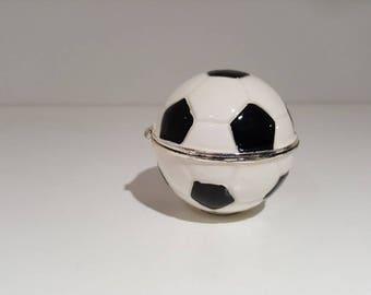 Football Shaped Trinket Box