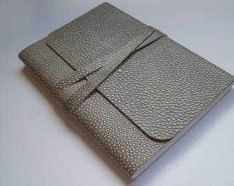 Journal Notebook Leather Journal Leather Notebook Travel Journal Leather Book. Stingray Effect Embossed onto the Leather