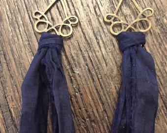 Sari Silk Earrings