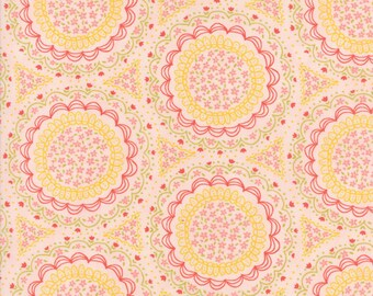 Home Sweet Home - Pink Spinning Garden Fabric - Stacy Iest Hsu - Sold by Half Yard