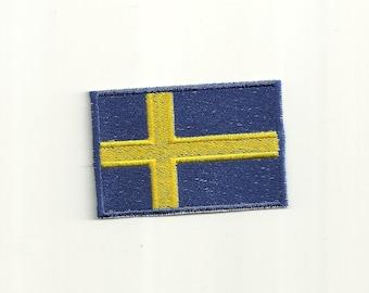 Swedish Flag Patch! Custom Made!
