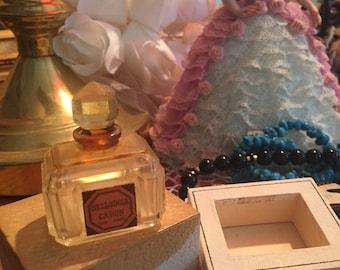 Bellodgia Caron Perfume Bottle and Box