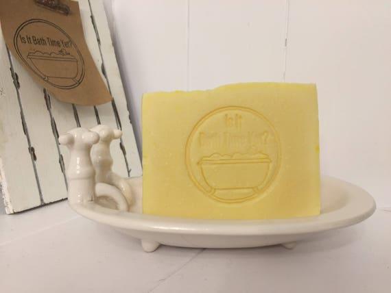 Citrus Dream Handmade Soap, Lemon, orange, artisan soap, Savon Citrus rêve à la main