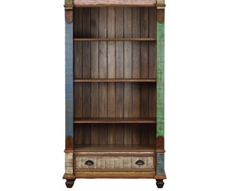 Distressed Etagère / Bookcase