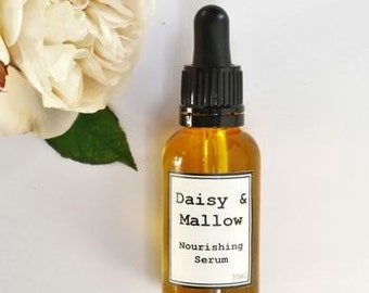 Nourishing Rose Facial Serum - facial oil - Jojoba - Rosehip - Argan-Moringa-Evening Primrose-Pomegranate-Tamanu -Sea Buckthorn- Carrot-50ml
