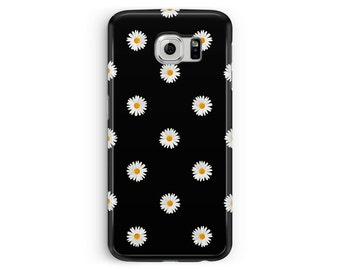 Floral Phone Case, DAISY Samsung Case, Floral samsung case, Galaxy S5 Cover, Daisy S5 Case, Pretty Samsung S5 Case, Girls Samsung Case