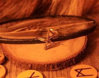 Sterling Silver Rune Rings