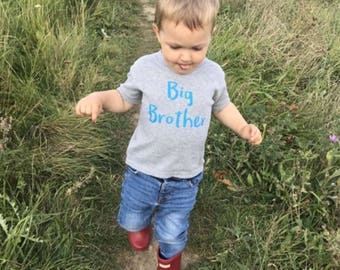 Big Brother Outfit-Big brother outfits-Pregnancy Reveal-Big Brother Shirt-Big brother shirts-Big brother gift-Gift for brother-Big Brother