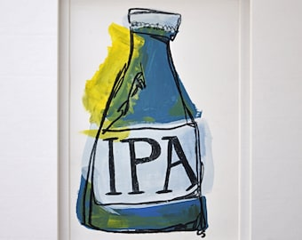 Blue and Yellow IPA