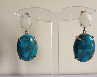 turguoise earring