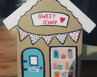 Sweet Shop Hanging House