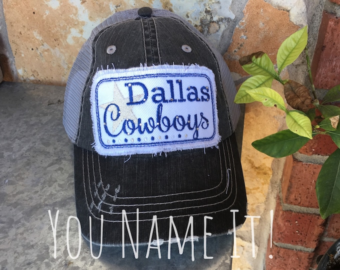 Dallas Cowboy Trucker Hat