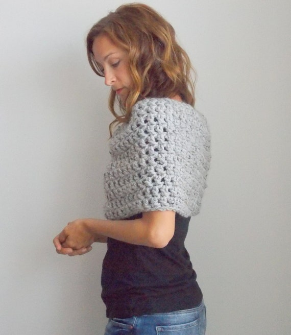 Infinity Scarf Shrug : cowl or capelet | style #1004