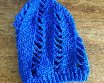 Summer Slouchy Beanie | Royal Blue Slouchy Beanie | Royal Blue Hat | Slouchy Beanie
