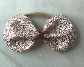 Pink Frosting Bow