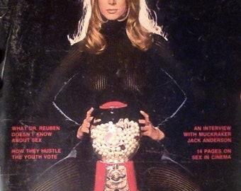Playboy Magazine November 1972- Perfect Collector's Item!