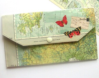 Travel Envelope Organizer Paper and Vinyl