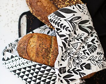 """Garden Tea Towel 100% cotton, 20""""x30"""", comes in a gift packaging with a complimentary recipe card #towel"""
