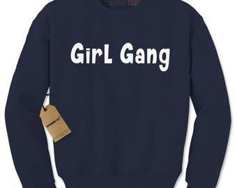 Girl Gang Adult Crewneck Sweatshirt