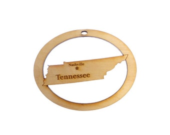 Tennessee Ornament - Tennessee State Ornament - Tennessee Gift - Tennessee Christmas Ornament - Tennessee Ornaments - Personalized Free