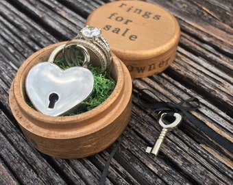 Ring Box Ring Holder Ring Pillow Wedding Ceremony Proposal