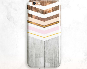 Wood iPhone 6S Case, Geometric iPhone 5S Case, Wood iPhone SE Case, iPhone 6 Plus, iPhone 7 Case, Wood iPhone 6 Case,Wood iPhone 5 Case,