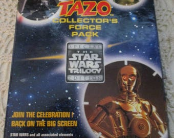 Walkers Tazo Pogs Collectors Force Pack - The Star Wars Trilogy Special Edition Folder (1996)