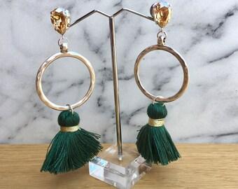 Earth earrings in 3 colors