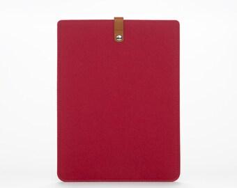 MacBook Sleeve –MacBook Case – Macbook Air 13 Cover - MacBook Felt Leather - Macbook Pocket