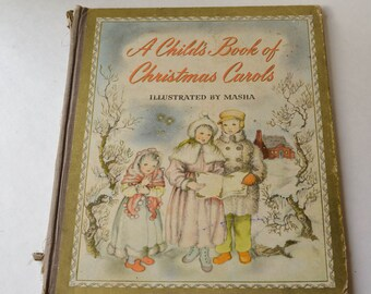 A Child's Book of Christmas Carols 1942