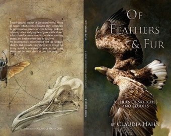 Of Feathers and Fur // a series of sketches and Studies // soft cover sketchbook
