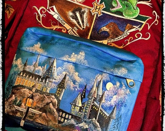 Custom Painted Harry Potter Backpack. Designed and personalized just for you!