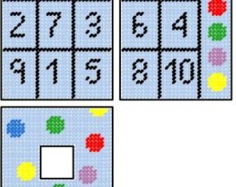 Bingo Tissue Box Cover Plastic Canvas Pattern