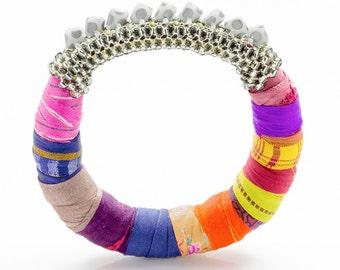 Indian Jewelry, Boho Jewelry Africa, Ethnic Fashion, Bohemian Jewelry Africa, African Inspired and Bohemian Jewelry, Textile Jewelry, Fabric