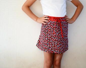 Hiekka Wrap Skirt Pattern 2y - 16y